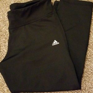 Adidas Climalite Workout pants capri Medium black